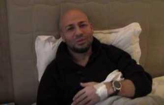 Kaza geçiren Kahraman Tazeoğlu'ndan açıklama