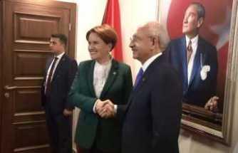 Kılıçdaroğlu - Akşener görüşmesi saat 20.00'de