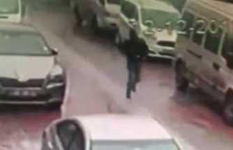 Silahlı saldırının ardından böyle kaçtı
