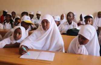 Somalili 9 çocuk annesi kadının eğitim aşkı