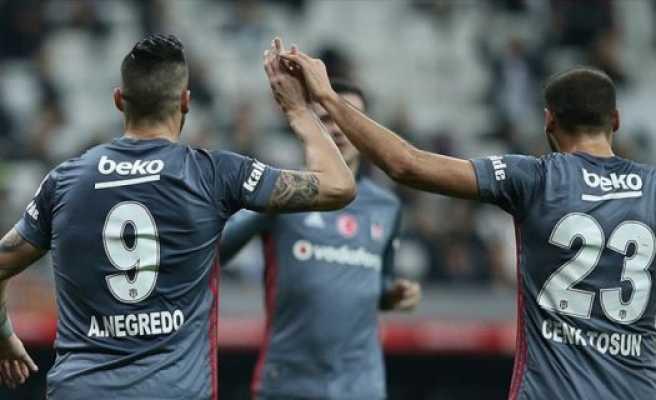 Beşiktaş kupada avantajı kaptı