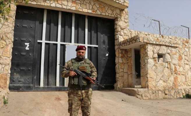 AA Afrin merkez hapishanesini görüntüledi