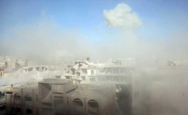 Esed rejimi Doğu Guta'daki sivilleri kimyasal silahla hedef aldı