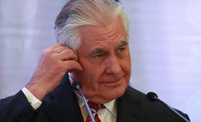 Görevden alınan ABD Dışişleri Bakanı Tillerson'dan ilk açıklama