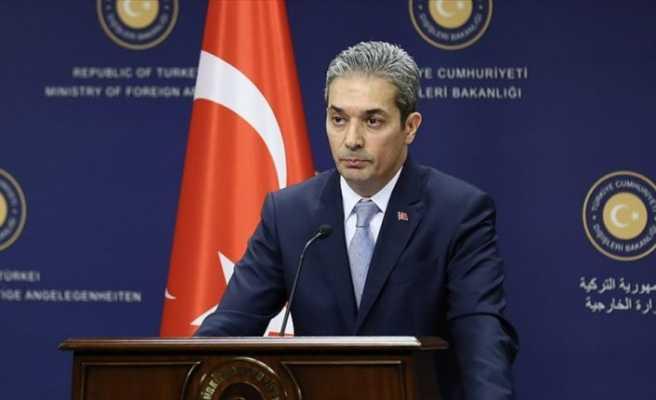 Dışişleri Bakanlığı Sözcüsü Aksoy'dan  Arap Ligine Afrin tepkisi