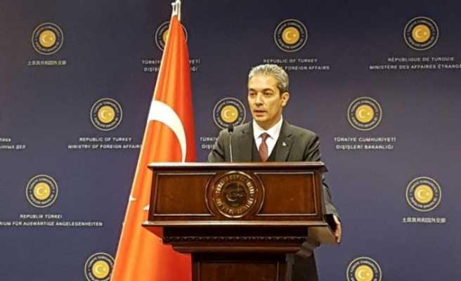 Dışişleri Sözcüsü Aksoy'dan yurt dışındaki seçmenlere ilişkin açıklama