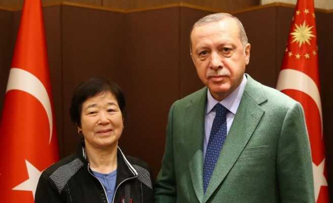 Erdoğan Koreli Ayla ile buluştu