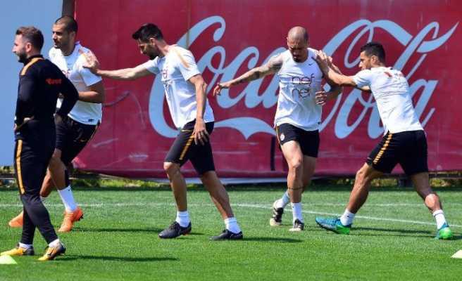 Galatasaray Akhisarspor maçı hazırlıklarını sürdürdü