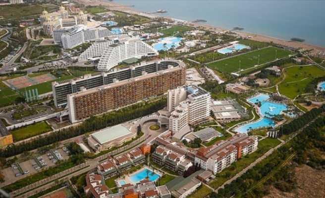 Otel ve konaklama tesislerinde geceleme yüzde 22 arttı