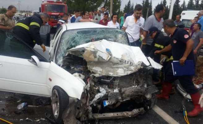 Kahramanmaraş'ta feci kaza: 1 ölü, 6 yaralı