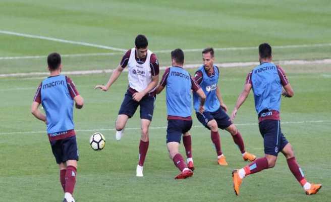 Trabzonspor Slovenya kampının ilk bölümünü tamamladı