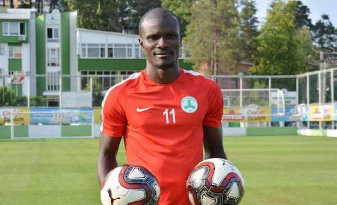 Giresunspor'un gol umudu Abiola lige hazır