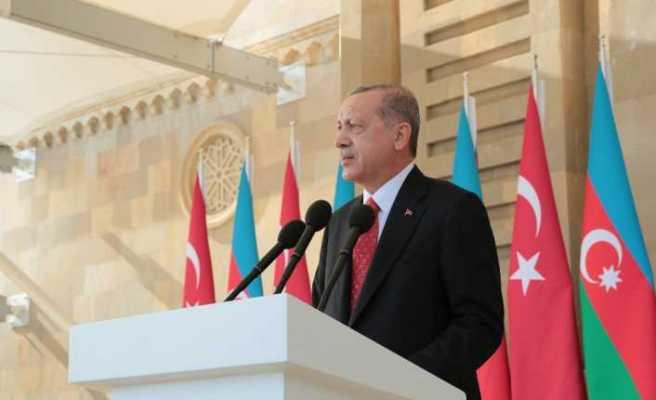 """Erdoğan'dan """"Dağlık Karabağ"""" mesajı"""