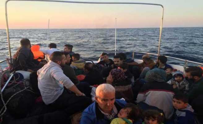 """""""574 göçmen yakalandı, 8 göçmenin cansız bedenine ulaşıldı"""""""