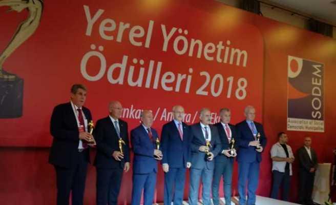 Kılıçdaroğlu SODEM Ödülleri törenine katıldı