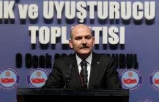 İçişleri Bakanı Soylu: FETÖ ile mücadelede 2017'de...