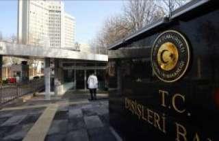 Rusya ve İran büyükelçileri Dışişleri Bakanlığına...