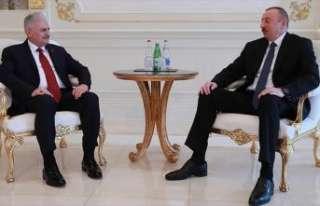 Başbakan Yıldırım, Azerbaycan Cumhurbaşkanı...