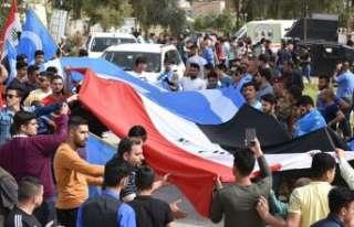 Kerkük'te Türkmenler Nevruz Bayramı'nı kutladı