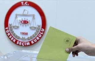 YSK'den oy yüzdelerinin hesaplanmasına ilişkin...
