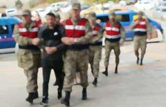 Şırnak'ta 3'ü Alman 4 kişi gözaltına alındı