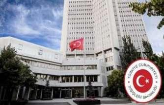 Dışişleri Bakanlığından Kerkük'teki bombalı saldırıya kınama
