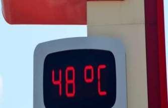 Termometreler 48 dereceyi gösterdi