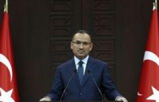 Başbakan Yardımcısı Bozdağ: Zeytin Dalı Harekatı'nda...