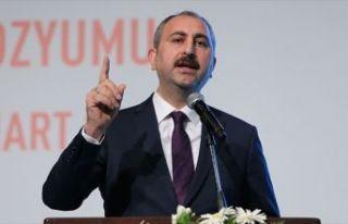 Adalet Bakanı Gül: İstismar çok boyutlu bir sorundur,...