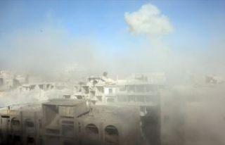 Esed rejimi Doğu Guta'daki sivilleri kimyasal silahla...