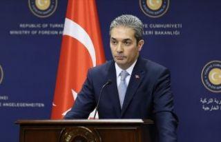 Dışişleri Bakanlığı Sözcüsü Aksoy'dan Arap...