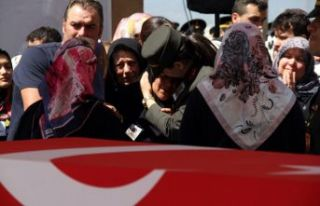 Şehit Piyade Er Baki Afşar son yolculuğuna uğurlandı