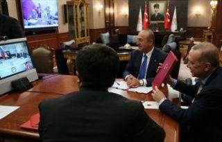 Erdoğan, Venezuela Devlet Başkanı Maduro ile telekonferansla...