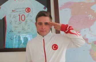 Down sendromlu milli sporcu Ali Topaloğlu: Türkiye'nin Usain Bolt'u olmak istiyorum