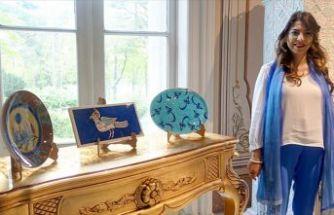'Çiniden Şifa Tasları' sergisi ziyarete açıldı
