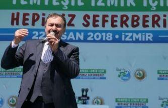Orman ve Su İşleri Bakanı Eroğlu: Yanan orman alanları 1 yıl içerisinde ağaçlandırıldı