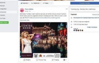Paris Hilton'dan mesaj var
